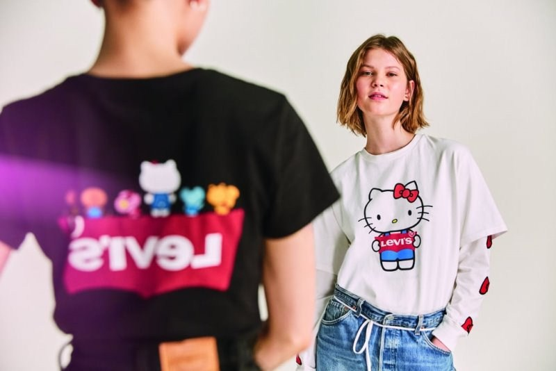 Levi's Turns 45; Celebrates With Hello Kitty 45th Anniversary Collection